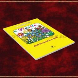 Florile, carte de colorat in versuri