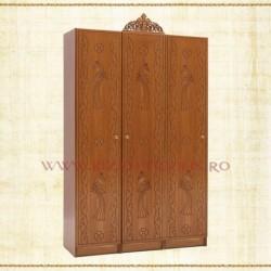 Dulap 3 usi - lemn sculptat