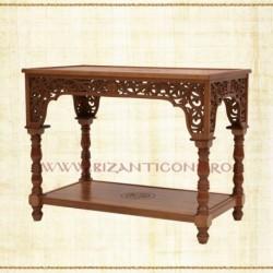 Masa altar - lemn sculptat