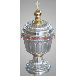 Cristelnita aluminiu + capac aurit - 55 litri