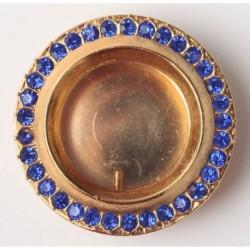 CASETA SF MOASTE - rotunda + pietre albastre