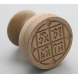 PRISTOLNIC lemn 6cm