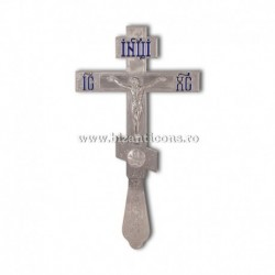 Cruce Binecuvantare Argintie - mare