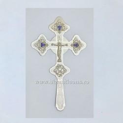 Cruce Binecuvantare Argintata - mare