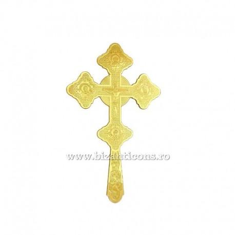 Cruce Binecuvantare Aurita - mica - gravata