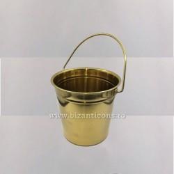 CALDARUSA Aghiasma Inox Aurie - mica 2 litri
