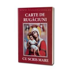 71-513 Carte de Rugaciuni - scris mare - rosie 10/set
