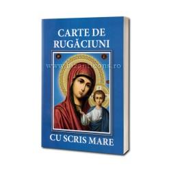 71-510 Carte de Rugaciuni - scris mare - albastra 10/set