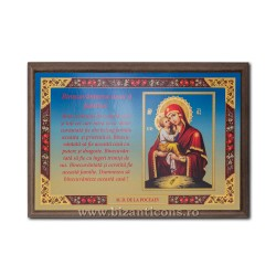 1835-609 Icoana Binecuvantarea Casei 23x33 - MD Poceav