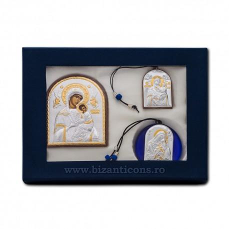 SET 3 ICOANE - cutie albastra 25x29 GBO3