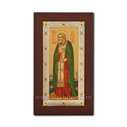ICOANA Ag925 lemn Sf Serafim 14x24 EK404-149XAG