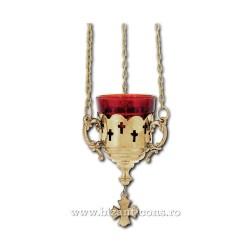 Candela lant bronz - trafor cruci