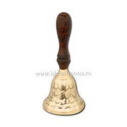 Clopotel bronz maner lemn