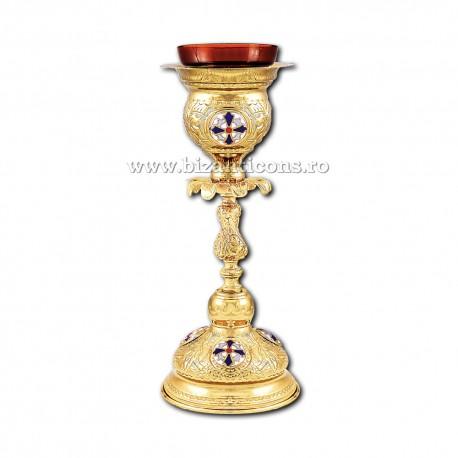 Candela masa - aurita medalion email X37-291